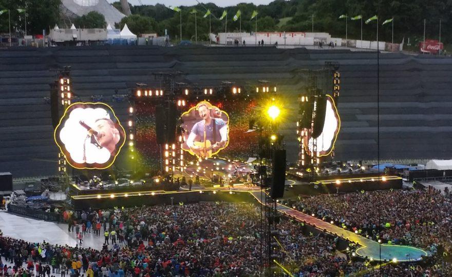 Coldplay a Monaco di Baviera 6.6.17